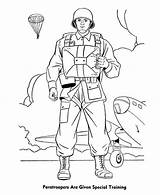 Coloring Forces Pages Special Armed Paratrooper Army Paratroopers Soldier Drawing Colouring Military Training Given Bomber Drawings Template Sheets Sketch Coloringsun sketch template