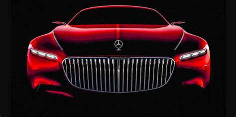 Vision Mercedes-maybach 6 Coupe Teased Ahead Of Pebble