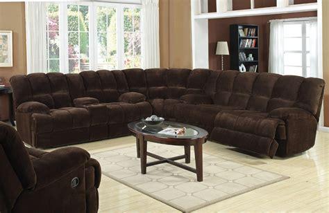 Monica Recliner Sectional Sofa