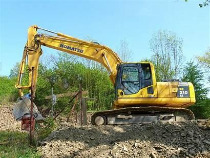 Komatsu Excavator Pc210lc Wallpapers