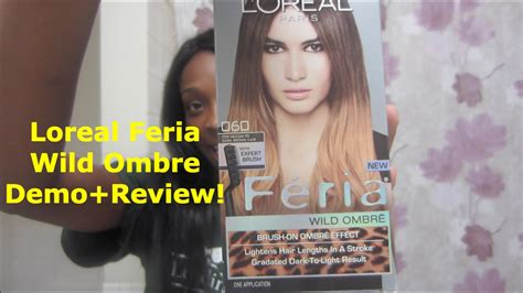Loreal Feria Wild Ombre Demo+first Impression+review