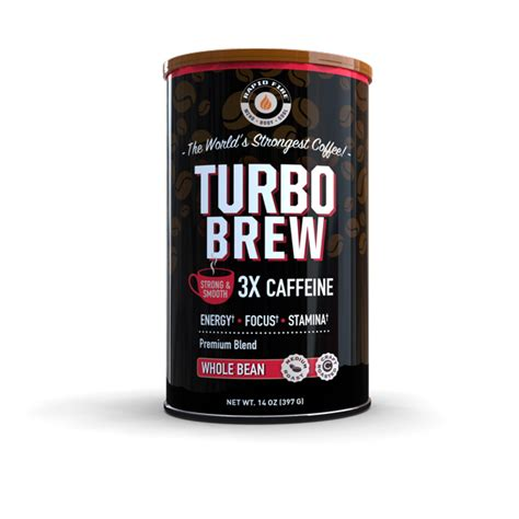 Rapid fire claims their coffee will help your burn calories, feel full, give a metabolism boost, balance performance levels, and boost brain power. Rapid Fire Turbo Brew Keto Coffee Beans, 14 oz Can - Walmart.com - Walmart.com