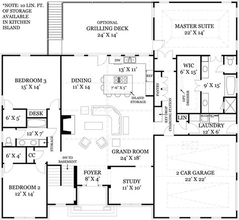 floor plans with open kitchen to the living room i like the foyer study open concept great room and kitchen 9865
