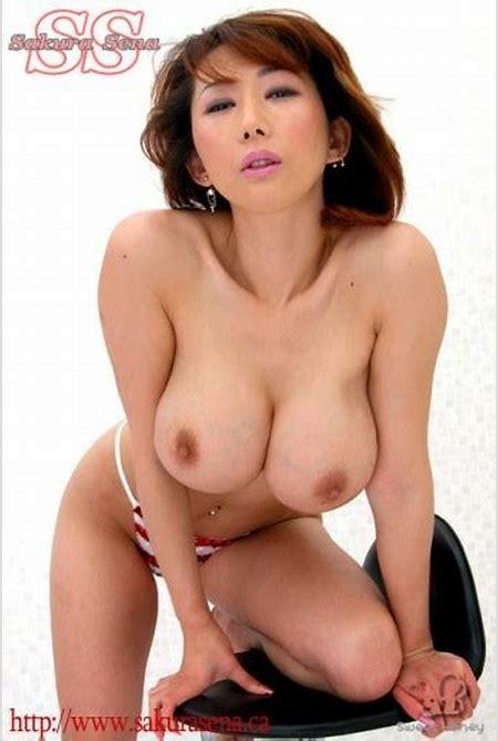 Sexual Japanese Sakura Sena shows her big tits in bikini - Pichunter