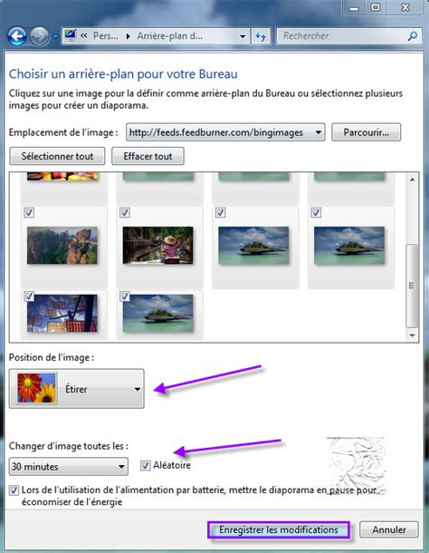 performances du bureau pour windows aero windows 7 créer un diaporama sur votre bureau le