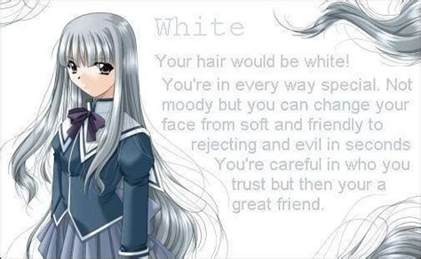 whitesilver hair anime girls photo  fanpop