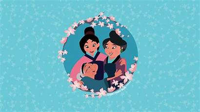 Desktop Disney Mother Mulan Three Generations Mothers