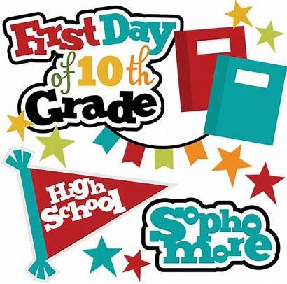 Grade 10th Clipart Svg Clip Scrapbook Scrapbooking