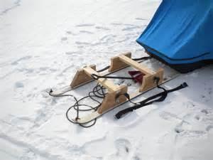 Ice Fishing Smitty Sled