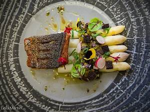 Cuisiner Le Bar : pav de bar grill asperge et rhubarbe une recette de ~ Melissatoandfro.com Idées de Décoration