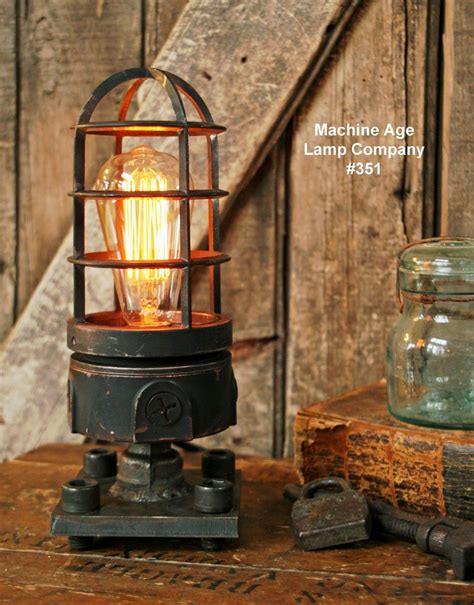 steampunk industrial lamp lighthouse explosion proof