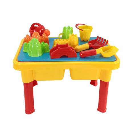 water table for kids sand and water table with beach play set for kids ws ebay