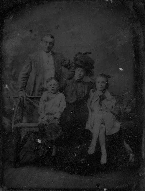 restoring antique tintype