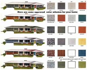Mad for mid century exterior mid century color palette for Exterior home color palettes
