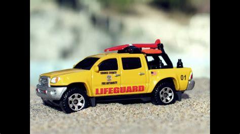 matchbox toyota tacoma runner lifeguard customs ocfa