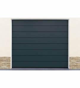 Porte De Garage Sectionnelle Pas Cher : motorisation standard porte de garage gris sectionnelle ~ Dailycaller-alerts.com Idées de Décoration