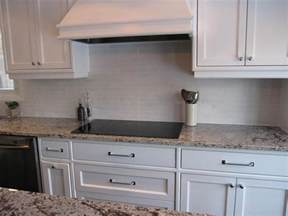 Backsplash Ideas For White Cabinets by Subway Tile Backsplash Ideas With White Cabinets Amazing