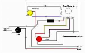 Ceiling Fand Wiring Diagram