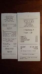 Rechnung Quittung : china restaurant peking kassel restaurant bewertungen telefonnummer fotos tripadvisor ~ Themetempest.com Abrechnung