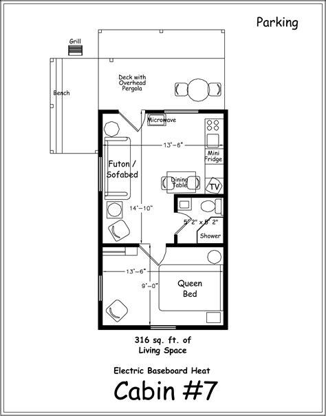 cabin floor plan ideas  woodworking