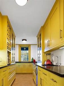 Farben Für Küche : frische farben f r die k che 58 wohnideen in gelb ~ Orissabook.com Haus und Dekorationen