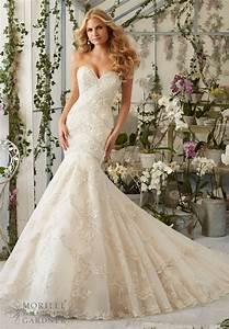 im403 luxury mermaid wedding dress 2016 designer bridal With wedding dresses for heavy brides