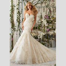 Im403 Luxury Mermaid Wedding Dress 2016 Designer Bridal