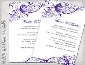 fan wedding program kits free wedding invitation card templates