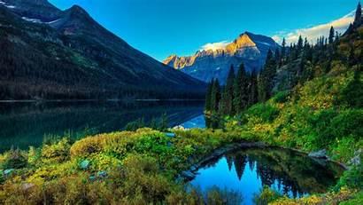 Mountain Scenery Wallpapers Lake 1366