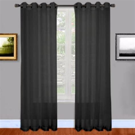 Brylane Home Grommet Curtains by 1000 Ideas About Window Sheers On Sheer