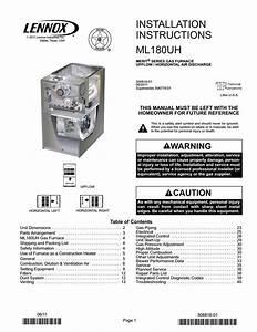 Lennox International Inc  Furnace Merit Series Gas Furnace