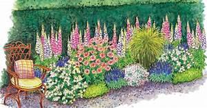 Blumenbeete Zum Nachpflanzen : zum nachpflanzen romantisches beet f r rosenfreunde mein sch ner garten ~ Yasmunasinghe.com Haus und Dekorationen