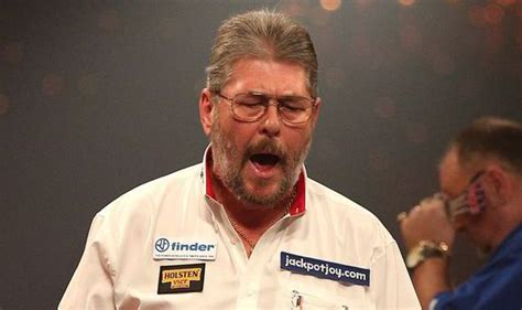 darts legend martin wolfie adams breezes  lakeside