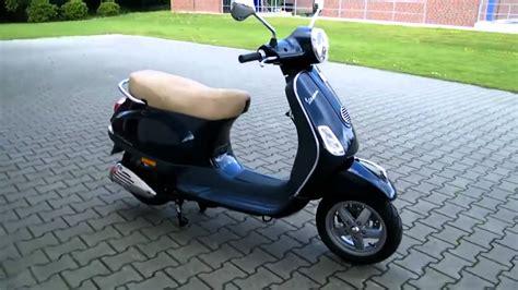 vespa roller 50 vespa lx 50 4t 11 roller scooter blau midnight 222 a 2011