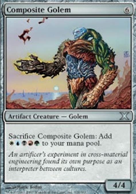 Edh Colorless Non Artifact Deck by Pauper Edh Artifact Commander Edh Mtg Deck