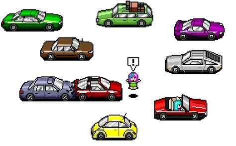 Pixel Car by Pixel Cars By Theprincessparadox On Deviantart