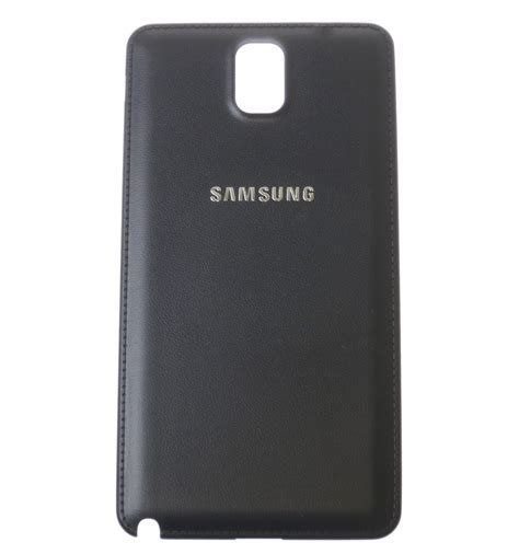 battery cover black oem for samsung galaxy note 3 n9005