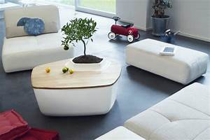 Kleine Couchtische Design : moderne couchtische mit integriertem garten wohnideen ~ Michelbontemps.com Haus und Dekorationen