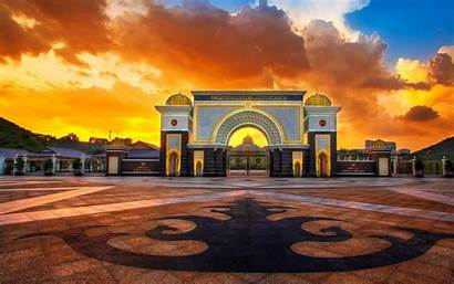 Indonesia Jakarta Wallpapers Istana Palace Gate Main
