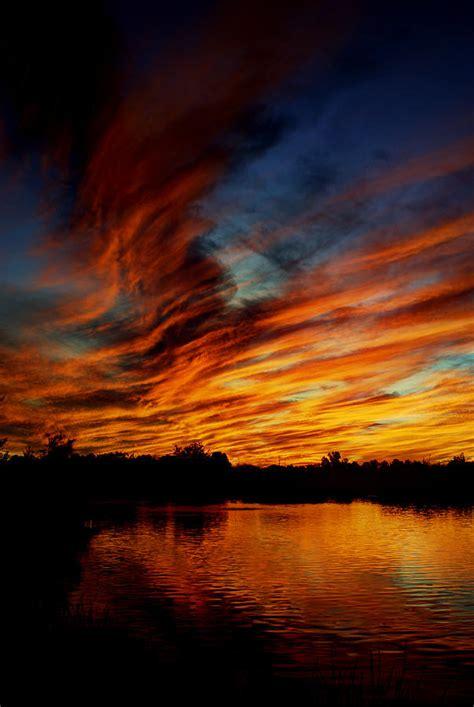 Fire Sky Photograph by Saija Lehtonen