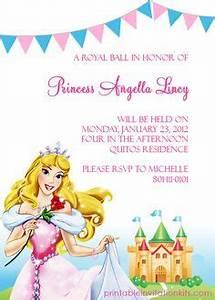 Sample Princess Birthday Invitation Wording Sheetal