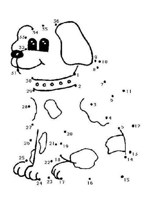 dot  dot cute dog coloring pages hellokidscom