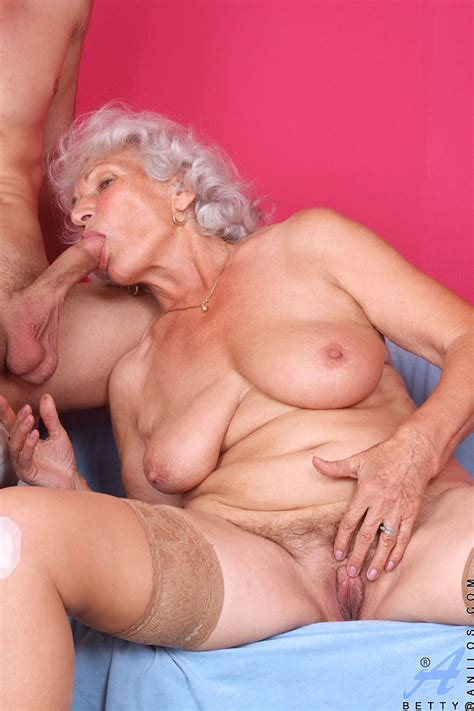 classy anilos granny betty gets what she wants as a horny stud pounds her granny seduction