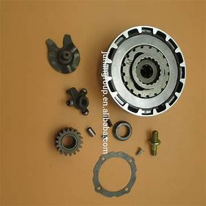 Semi Automatic Engine Clutch Assembly 18 Teeth 70cc 110cc 125cc Atv Dirt Bike Quad