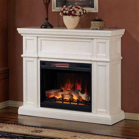 artesian white cabinet  infrared firebox wm