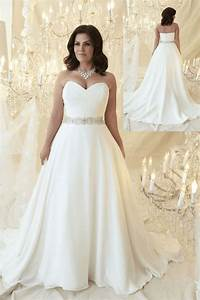 affordable wedding dresses for plus size women 2018 plus With discount plus size wedding dresses