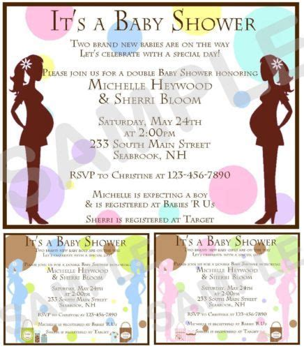 games factory  double baby showers baby shower