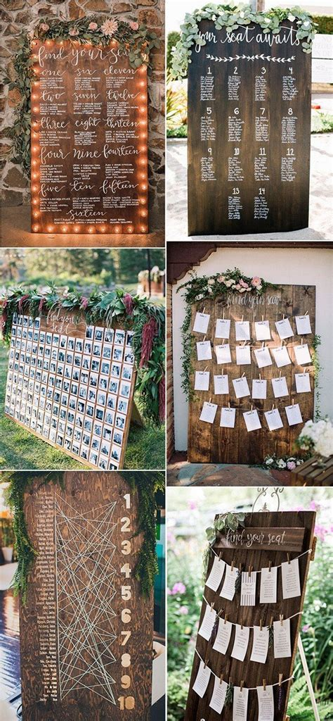 trending wedding seating chart decoration ideas page