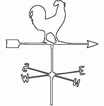 Weather Instruments Vane Clipart Windvane Saw Coloring