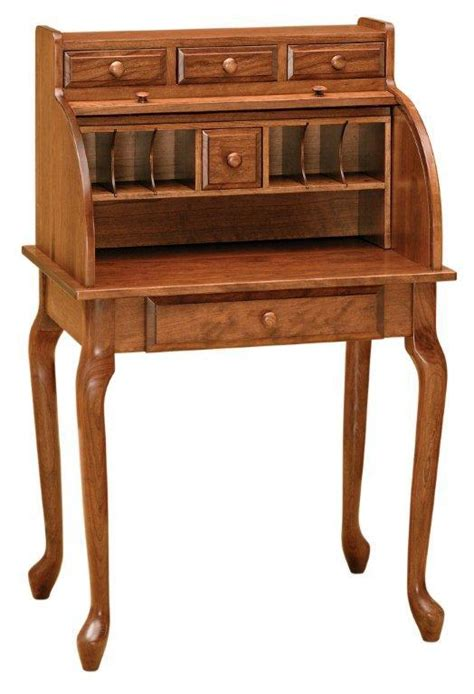 Amish Secretary Rolltop Desk